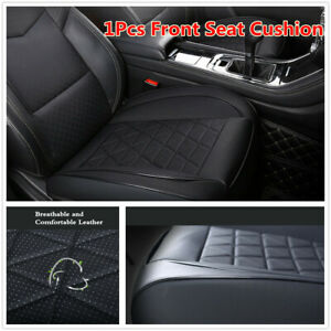 1Pcs Full Surrounded Design PU Leather Seat Protector Cushion For Car Front Seat