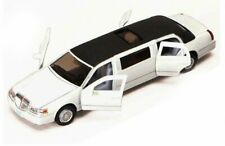 1999 LINCOLN TOWN CAR STRETCH LIMOUSINE 1/38 SCALE DIECAST CAR KINSMART 7001DW