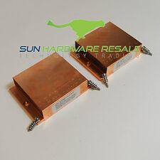 SUN ORACLE 2* 310-0128 Opteron Heatsink with screws for X4440 X4240 X4140