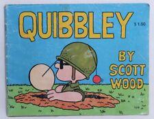Quibbley by Scott Wood 1985 Verlag Bechtle Comic Book Vintage Rare