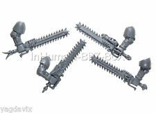 SW25 EPEE TRONCONNEUSE x4 SPACE WOLVES WARHAMMER 40000 BITZ SPACE MARINE W40K