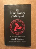 The Nine Doors of Midgard : A Curriculum of Rune-Work by Edred Thorsson and...