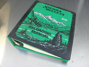 Sierra Bullets Reloading Manual Binder 1978 Reloading Handbook 2nd Edition