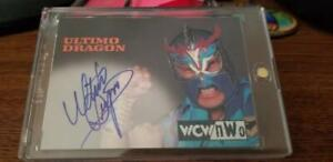 1999 ULTIMO DRAGON - WCW NWO Nitro - Authentic Autograph Card - WWE WWF TNA ECW