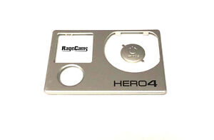 Front Faceplate Camera Face Plate Cover for GoPro Hero4 Black Power Button NEW!!