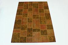 Modern Patchwork Stone Wash Used Look Perser Teppich Orientteppich 2,95 X 2,00