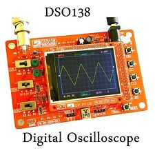 "DSO138 2.4"" TFT Digital Oscilloscope Kit Oszilloskop ( 1Msps ) with probe STM32"