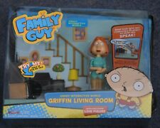 Family Guy Crazy Interactive World Griffin Living Room Lois Figure (read desc.)