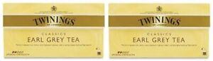 Twinings Of London Earl Grey Tea 2 Box Pack