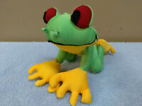"11"" Tree Frog, Plush Toy, Doll, Stuffed Animal, Rainforest Cafe"