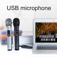 2x Wireless Microphone Handheld With USB Bluetooth Receiver for Church / Karaoke