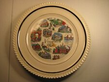 State of Virginia Souvenir Collector Plate with Landmarks
