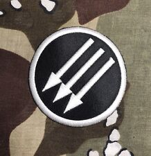 Iron Front Embroidered Patch I021P Antifascist Action Antifa Anti Nazi