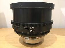 75mm Kinoptik Apochromat Focale P+S Technik Rehoused Cam Focus Arri PL Mount