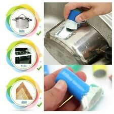 Cool Magic Stainless Steel Metal Rust Remover Cleaning Wash Brush Family Kitchen