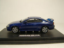 NISSAN SILVIA S15  Brilliant Blue  1999 1:43 M4 MTECH USED