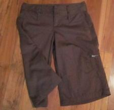 LULULEMON OUTDOOR LONG SHORTS IN COCOA BEAN SIZE 4 lightweight quick dry