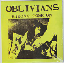 """OBLIVIANS Come on Strong 7"""" greg cartwright reatard gories crypt reigning sound"""