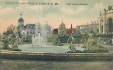 1910 Exposition Universelles Bruxelles Jardin de Bruxelles Brussels Garden