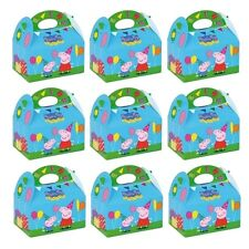 Peppa Pig Kids Birthday Party Loot Bag Food Gift Cake Boxes 395-750 Pack of 12