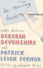 In Tearing Haste: Letters Between Deborah Devonshire and Patri ,.9780719568589
