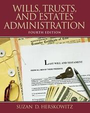 Wills, Trusts, and Estates Administration (4th Edition), Herskowitz, Suzan D, Go