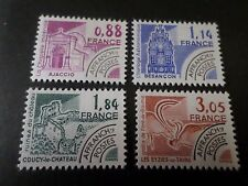 FRANCE 1981 SERIE TIMBRES PREOBLITERES 170/173 neufs**, VF MNH PRECANCEL STAMPS