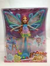 Mattel Winx Club Puppe Bloom Color Magic Wings Farbenzauber Fee Mint in Box Ovp
