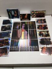 GHOST WHISPERER SEASONS 3&4 Complete Base Card Set w/ ALL FOIL CHASE CARD SETS