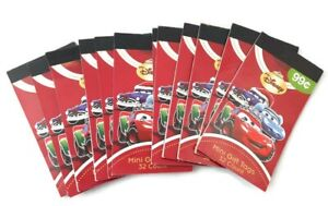 Cars 384 Disney Christmas Holiday Gift Tags Booklet Foil Stickers Lot Lightning