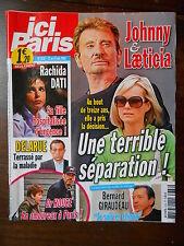 ►ICI PARIS 3332 - HALLYDAY - PATRICIA KAAS - DALIDA - MICHEL SIMON -