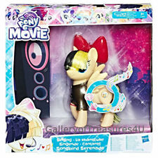 "My Little Pony The Movie Singing Songbird Serenade 11"" Sings Bow Lights Up Sia"