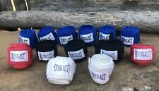 Lot Of 13:  EVERLAST Boxing Hand Wraps Punching Bag Fist Wrist Protection