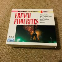 French Favourites 5 Cd Treasury Of Great Classics  Bizet Debussy Ravel Berlioz