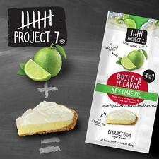 3 Packs Project 7 NEW BUILD A FLAVOR KEY LIME PIE flavor GUM FREE SHIPPING