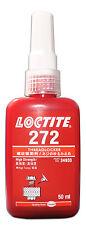 LOCTITE 272 HIGH STRENGTH - THREADLOCK - ALL METAL ADHESIVE -  GLUE 50 ML