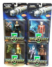 Babylon 5 Action Figure Starter Set of 4 Different-Vintage Lot- Carded