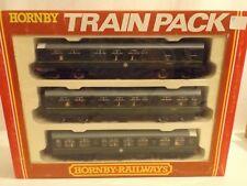 Oo Hornby Train Pack Br 3 car set in original box