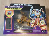 Transformers Generations Deluxe Retro Headmasters Weirdwolf
