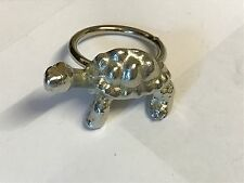 Tortoise TG19 Fine English Pewter on a Scarf Ring