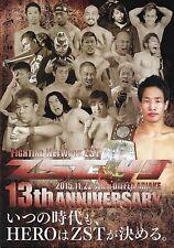 Zst 13th Anniversary MMA 11.22.2015 Event Program Atsushi Kato v Go Kashiwazaki