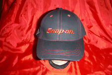 NEW PROMOTION HAT! SNAP-ON TOOLS CAP! DISTRESSED LOOK BILL, W/ WRENCH ON SIDE!