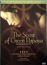 The Scent of Green Papaya (1993) DVD PAL COLOR Vietnamese Drama, Academy, Cannes