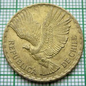 CHILE 1964 So 5 CENTESIMOS, FLYING ANDEAN CONDOR
