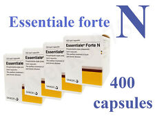 ESSENTIALE FORTE N 300mg - 400 capsules liver detox protection - registered mail