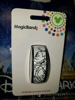 NEW DISNEY MICKEY MOUSE SKETCH WHITE Magic Band Magicband Link Later