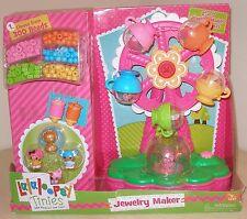 lalaloopsy tinies PLAYSET LALALOOPSY Ferris Wheel PLAYSET Jewelry maker New
