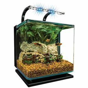 aquario soporte pecera estanque paneles madera reversibles almacenamiento luz