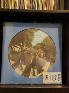 The Beatles anniversary Abbey Road picture disc