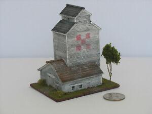 Z Scale Scratch Built Model - Old Grain Elevator